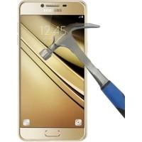 Letstur Samsung Galaxy C5 Temperli Cam Ekran Koruyucu Film