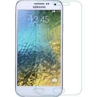 Letstur Samsung Galaxy E5 Temperli Cam Ekran Koruyucu Kırılmaz Film