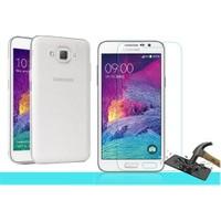 Letstur Samsung Galaxy Grand Max Temperli Cam Ekran Koruyucu Kırılmaz Film