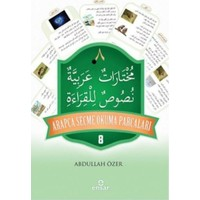 Arapça Seçme Okuma Parçaları 8 Kitap Set