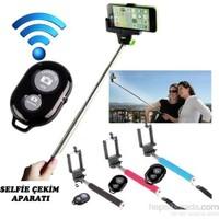 Smartie's Selfie Çubuğu Bluetooth Kumandalı