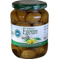 Tardaş Egenin Organik Kalamata Yeşil Zeytin 660Gr