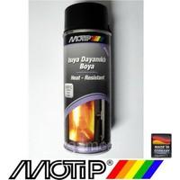 Motip 690°C Isıya Dayanıklı Siyah Boya 400 ml