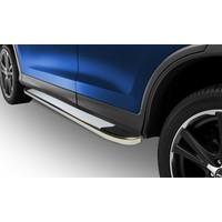 Omsa Chevrolet Trax 2013- Sonrası Yan Basamak Whiteline Alüminyum