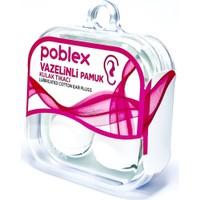 Poblex Vazelinli Pamuk Kulak Tıkacı - Kulak Koruyucu Tıpası 2'li