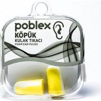 Poblex İpli Köpük Kulak Tıkacı - Kulak Koruyucu Tıpası