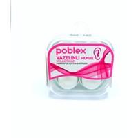 Poblex Vazelinli Pamuk Kulak Tıkacı - Kulak Koruyucu Tıpası 4'lü
