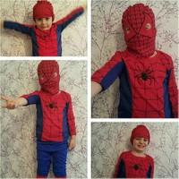 Leyaton Örümcek Adam Kostümü 6 - 8 Yaş (Medium)