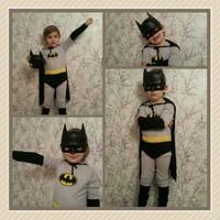Leyaton Batman Kostümü 9 - 10 Yaş (Large)