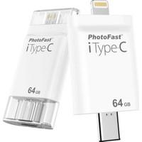 PhotoFast iTypeC 4in1 64GB Lightning / Type-C / USB 3.0 / MicroUSB i-FlashDrive (iPhone, iPad, iPod, Android) - BPF-iTypeC64GB -