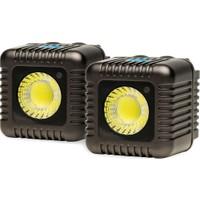 Lume Cube 1500 Lümen İkili Paket Led Işık Füme