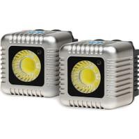 Lume Cube 1500 Lümen İkili Paket Led Işık Gümüş