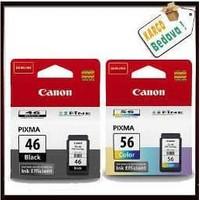 Canon Pg - 46 - Cl - 56 Siyah Ve Renkli Kartuş