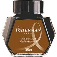 Waterman Şişe Mürekkep Kahverengi