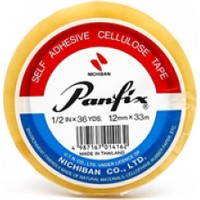 Panfix Bant 12mmX33mt Teneke Kutu 24 Adet