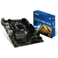 MSI B250M PRO-VDH Intel B250 2400MHz DDR4 Soket 1151 mATX Anakart