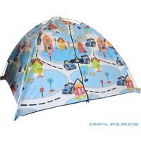 Hopim Çocuk Arabalı 100% PAMUK Oyun ve Uyku Çocuk Çadırı