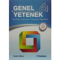 Tudem Yayınları 4. Sınıf Genel Yetenek Kadir Gülcü
