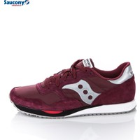 Saucony 70124-4 Dxn Trainer Burgundy