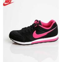 Nike 807319-006 Md Runner 2 (Gs) Black/Vivid Pink-White Spor Ayakkabı
