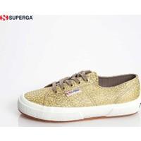 Superga 2750-Rafialamew X01467 S00alm0 904 Canvas Yellow- Ayakkabı