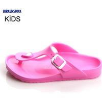 Birkenstock 128463 Gizeh Eva Birkenstock Neon Pink Terlik