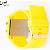 Up Watch Saat Led Gold Edition Yellow