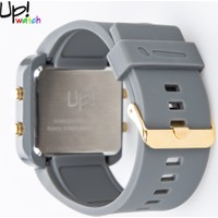 Up Watch Saat Led Gold Edition Grey