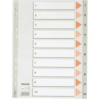 Esselte Seperator A4 1-10 Rakamlı