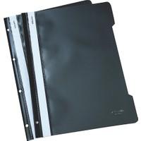 Esselte 4199 Plastik Telli Dosya 50'li Renk - Siyah