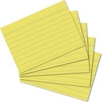 Herlitz A8 100'lü Çizgili Sarı Kartotek