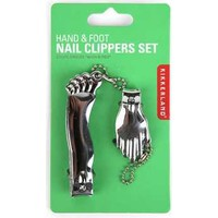 Kikkerland Hand & Foot Nail Clıpper - El Ve Ayak Tırnak Makası Seti - Krom
