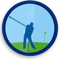 Kikkerland Wall Clock - Duvar Saati - Golf