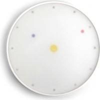 Kikkerland Wall Clock Reductous Milton Glaser Tasarımı Saat