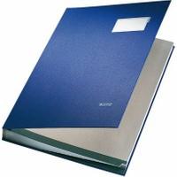 Leitz Plastik Kapaklı İmza Dosyası 20 Sayfa (L5700) Renk - Mavi