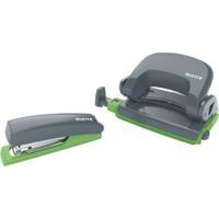 Leitz 5507 Retro Chic Zımba Ve Delgeç Set Renk - Gri Yeşil