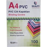 Mapi Pvc A4 160 Micron Cilt Kapağı 100'lü Renk - Mavi