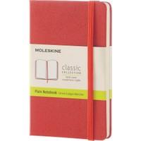 Moleskine Classic Cep Not Defteri Sert Kapak Düz 192 Sayfa 9 x 14 Cm Mercan Turuncusu