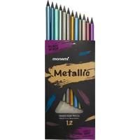 Monami Metalik Kuru Boya 12 Renk