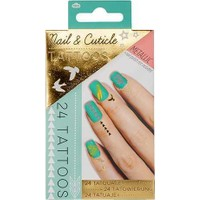 Npw Metallic Nail & Cuticle Tattoos - Metalik Tırnak Ve Kütikül Dövme Seti