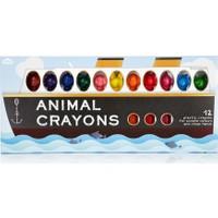Npw Crayon Pastel Boya Seti - Animal Crayons 12