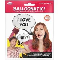 Npw Balloonatic - Sosyal Ağ Konuşma Balonları - Hey - I Love You