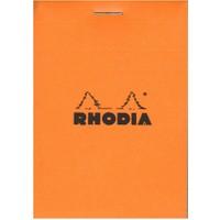 Rhodia Basics A7 Zımbalı Turuncu Çizgili Defter Rb 11600