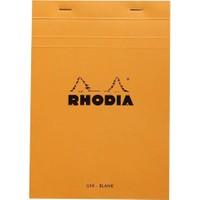 Rhodia Basics A5 Zımbalı Turuncu Çizgisiz Defter Rt 16000