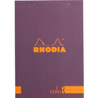 Rhodia Basics 85 x 120 Mm Zımbalı Mor Çizgili Defter Rs 12970