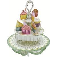 Santoro Gc Pirouettes Cup Cake Çay Saati 3D Kart Ps004