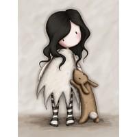 Santoro Gorjuss Eclectic I Love You Little Rabbit Kartpostal Es069