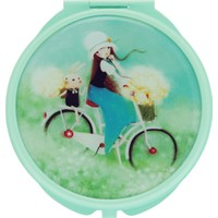 Santoro Kori Kumi Summer Time Yeşil Compact Ayna 482Kk01