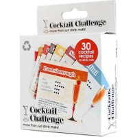 Suck Uk Cocktail Challenge - Bardak Altlığı Takımı - 30'lu Set