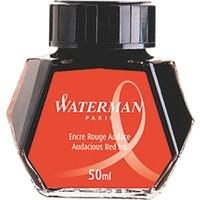 Waterman Kırmızı Şişe Mürekkep
